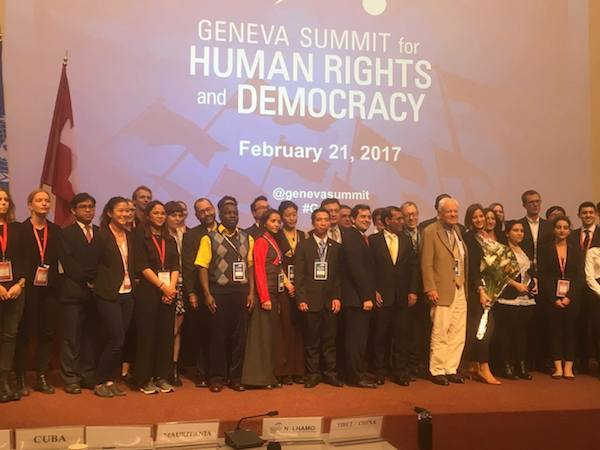 Organiser, Speakers and Interpreters of the 9th Geneva Summit