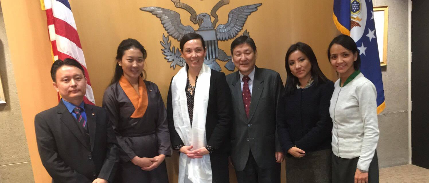 DIIR delegation with US Permanent Mission's Political Officer