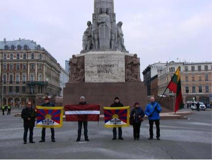 In Riga, Latvia