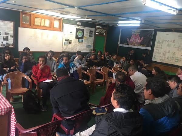 Tibetan NGOs & CBOs interactive session with IIMC students.