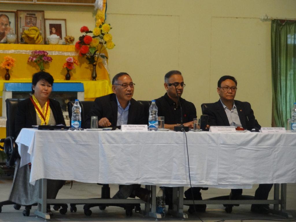 Education Kalon Ngodup Tsering at the