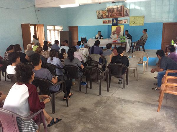 Security Kalon at Lingtsang settlement.