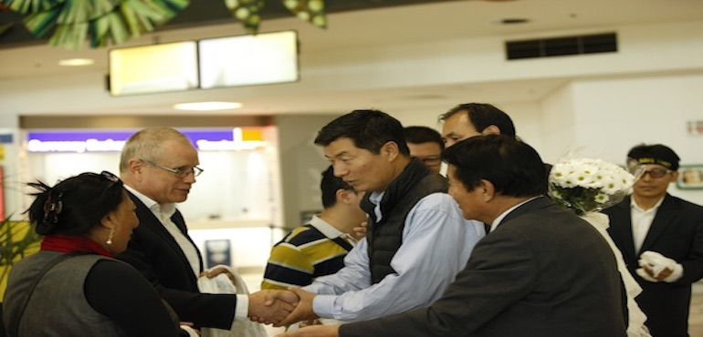 President of the Central Tibetan Administration Sikyong Dr. Lobsang Sangay Arrives in Brisbane, Australia