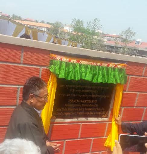 Home Kalon inaugurates Tsering Gepheling apartments for retired CTA officials.