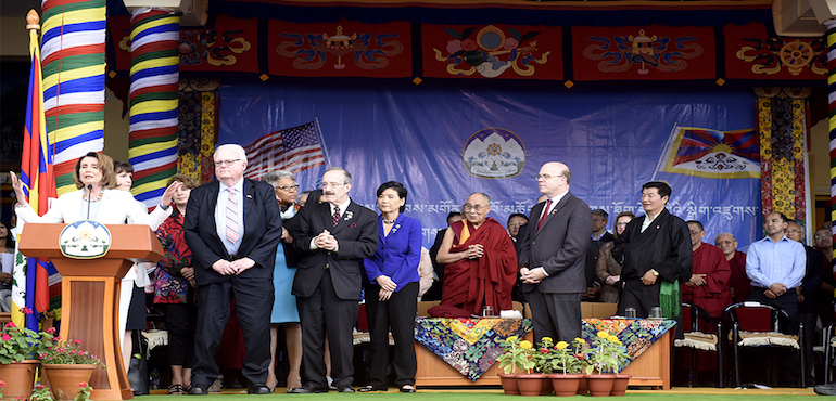 United States Congressional Delegation Briefs Press On Dharamsala Visit