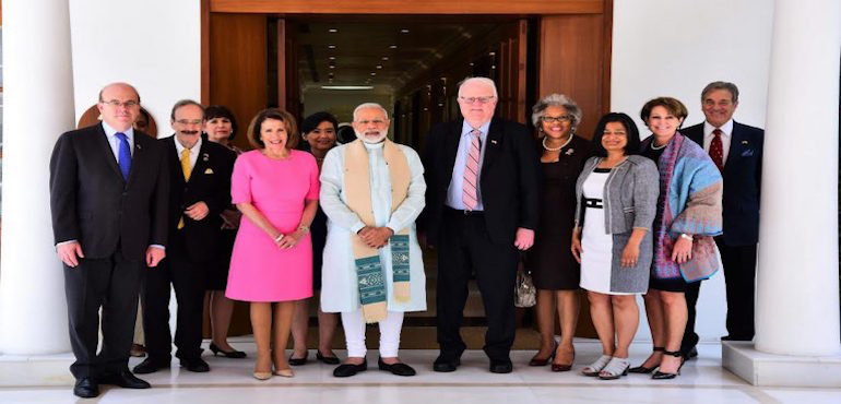 US Congressional Delegation Raises Tibet  Issue with Indian Prime Minister Narendra Modi