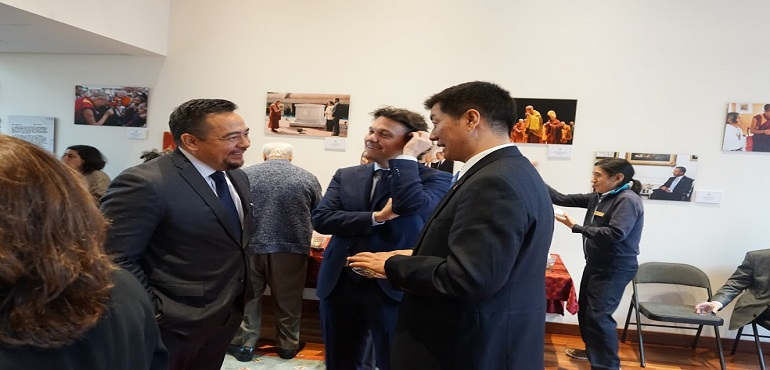 President of CTA talks Tibet on his first visit to Washington DC under the new US administration