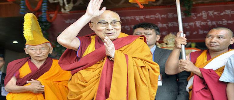 Diskit Monastery Offers Long Life Prayers for His Holiness the Dalai Lama