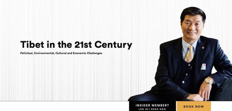 Tibet in the 21st Century – CTA President to Speak at Sydney Opera House Next Month