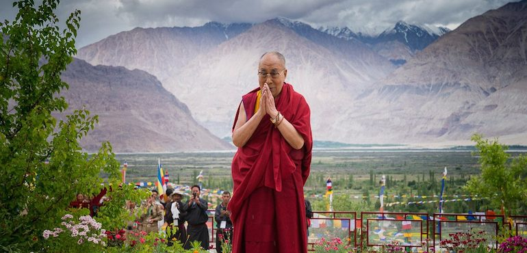 His Holiness the Dalai Lama Expresses Sympathy for Victims of HP Landslide