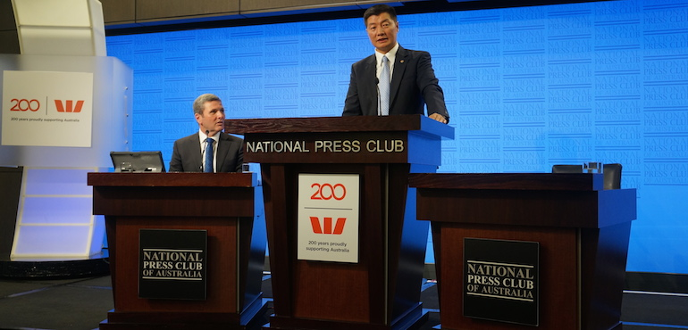 Tibet Gives Us Lessons In Our Dealings with China: CTA President at National Press Club, Canberra