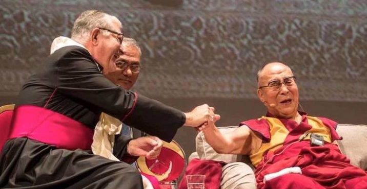 His Holiness the Dalai Lama bestowed with Messina's 'Builder of Peace, Justice and Nonviolence Prize'