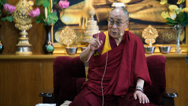 The Real Beauty of a Human Being Lies in its Smile: His Holiness the 14th Dalai Lama