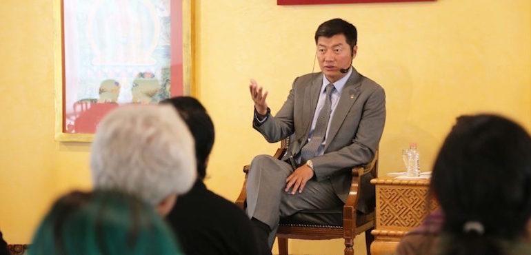 CTA President Dr Lobsang Sangay