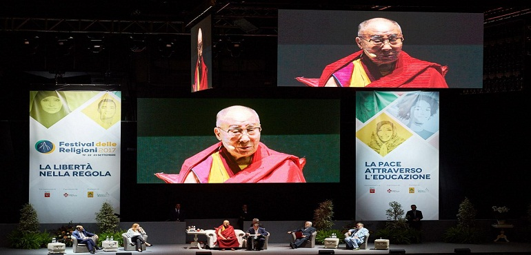 We Must Foster the Sense of Oneness of Seven Billion Human Beings:  His Holiness the Dalai Lama in Florence