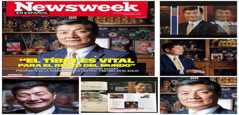 TIBET IS VITAL TO THE REST OF THE WORLD: LOBSANG SANGAY
