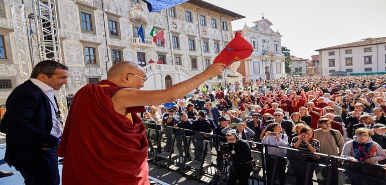 You are the Future of the World: His Holiness to Students at Knight's Square in Pisa