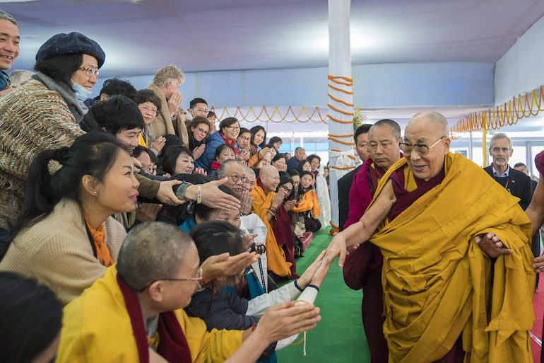 His Holiness the Dalai Lama Concludes Teaching for Chinese Buddhists
