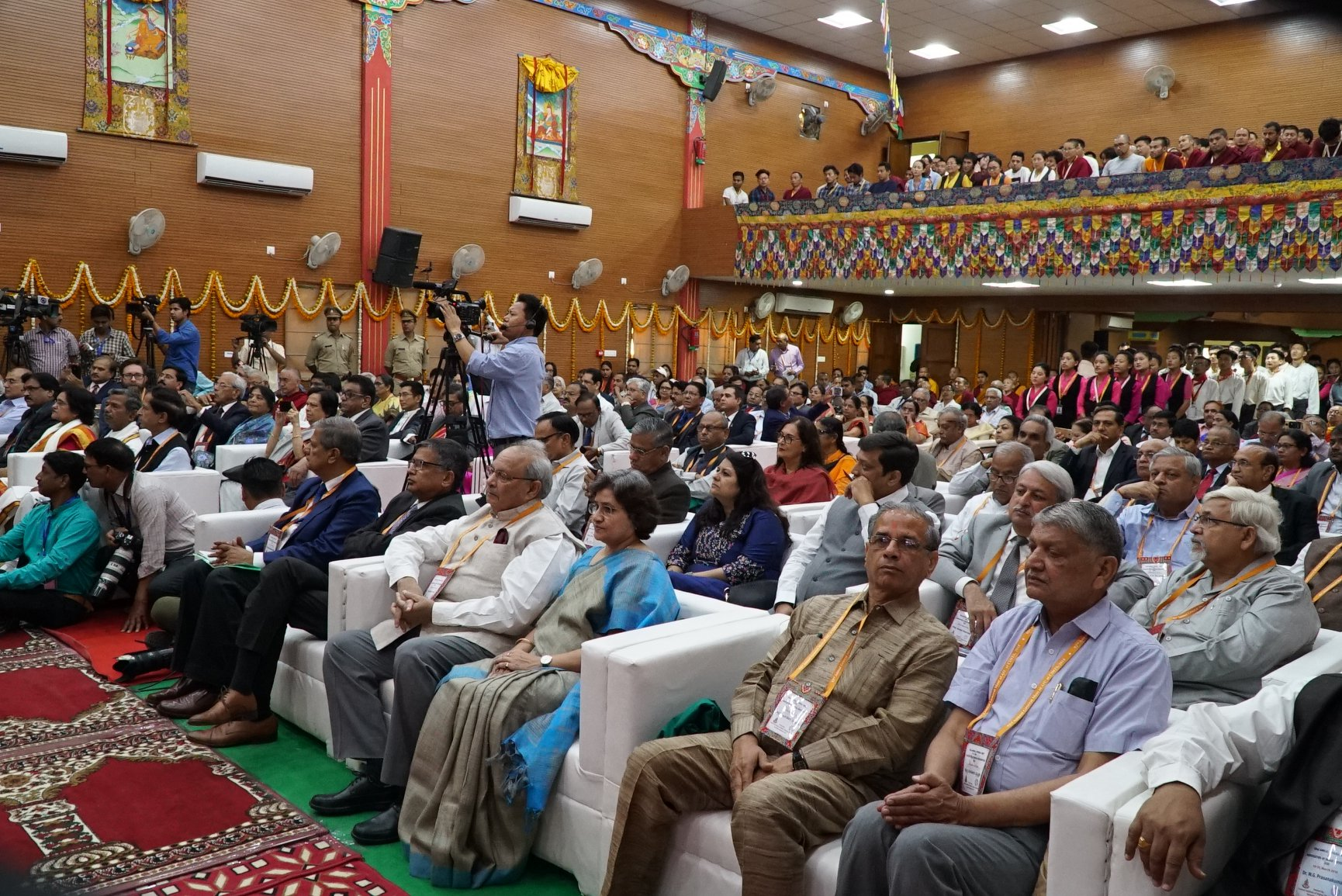 de4f807c7bf2 ... across India taking part in the 92nd Annual General Meet of Association  of Indian Universities at Central Institute of Higher Tibetan Studies, ...