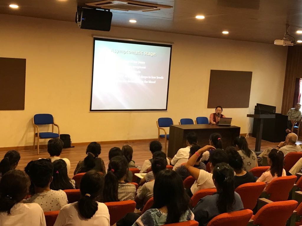 HIV/AIDS awareness campaign for Tibetan youth at Banglore - Central
