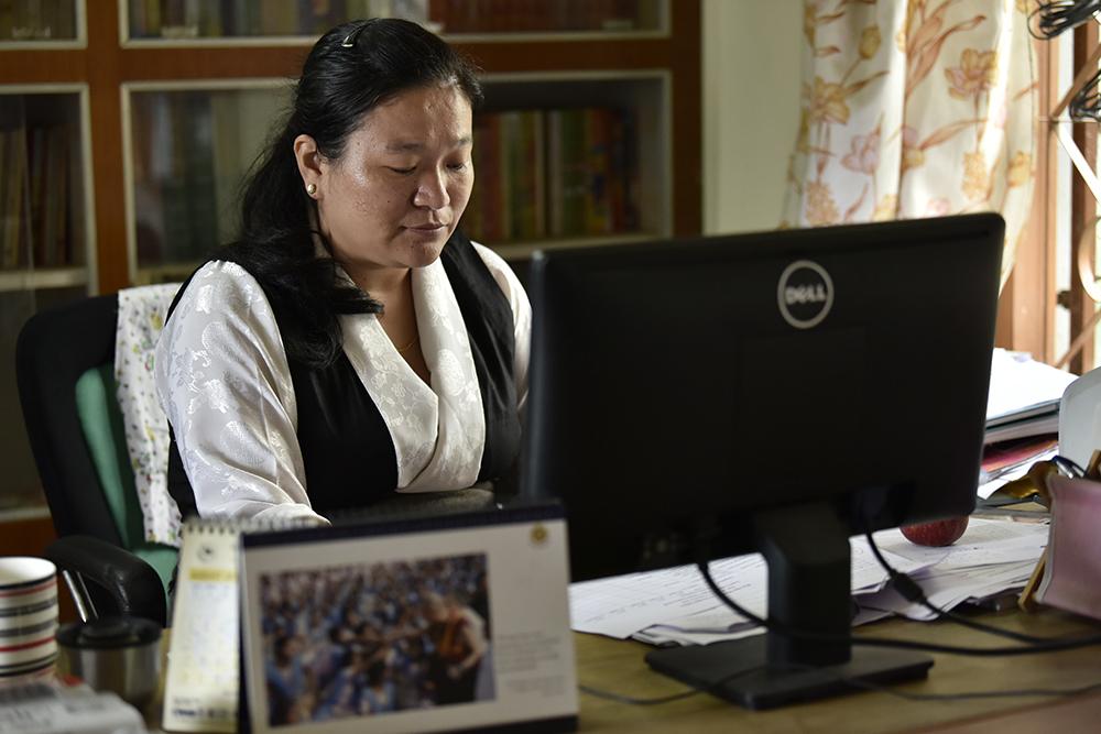 Ms Tenzin Pema, Education Council for Tibetans in Exile, Department of Education, CTA. Photo / Tenzin Jigme Taydeh / Tibet.Net / CTA