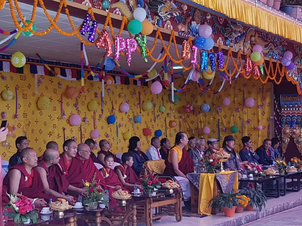 Tibetans in Kalimpong celebrate birth anniversary of 42nd