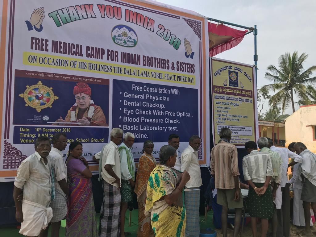 Health Department organises free medical camps for local