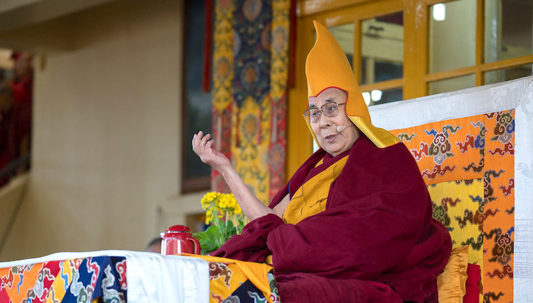 His Holiness the Dalai Lama's teaching schedule 2019