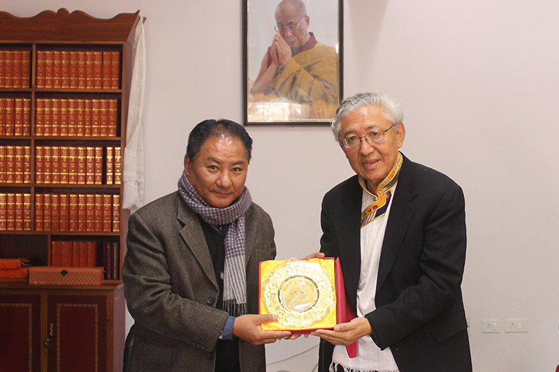Dr Tenzin Dorjee, Chair of US Commission on International ...