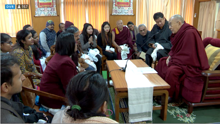 Ten thousand Tibetan monks trained and equipped with ancient Indian