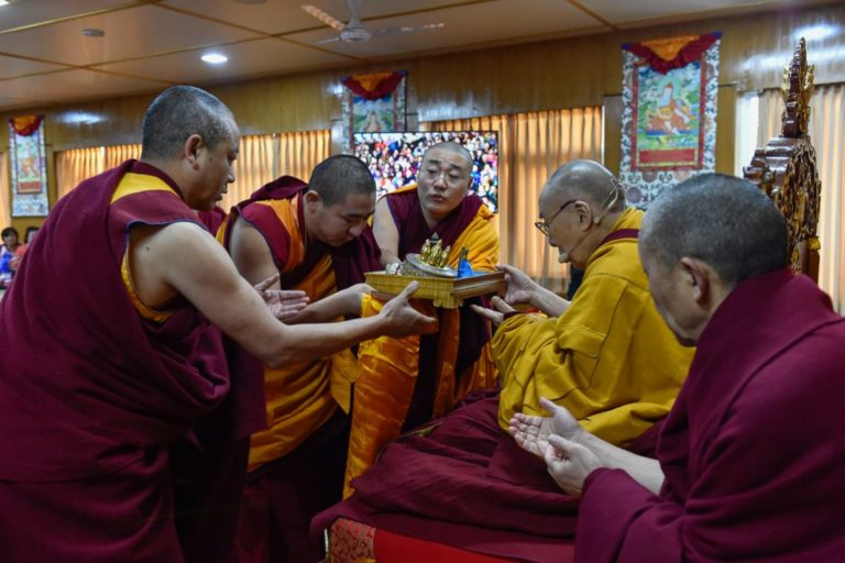 His Holiness the Dalai Lama begins two-day teaching for Mongolian