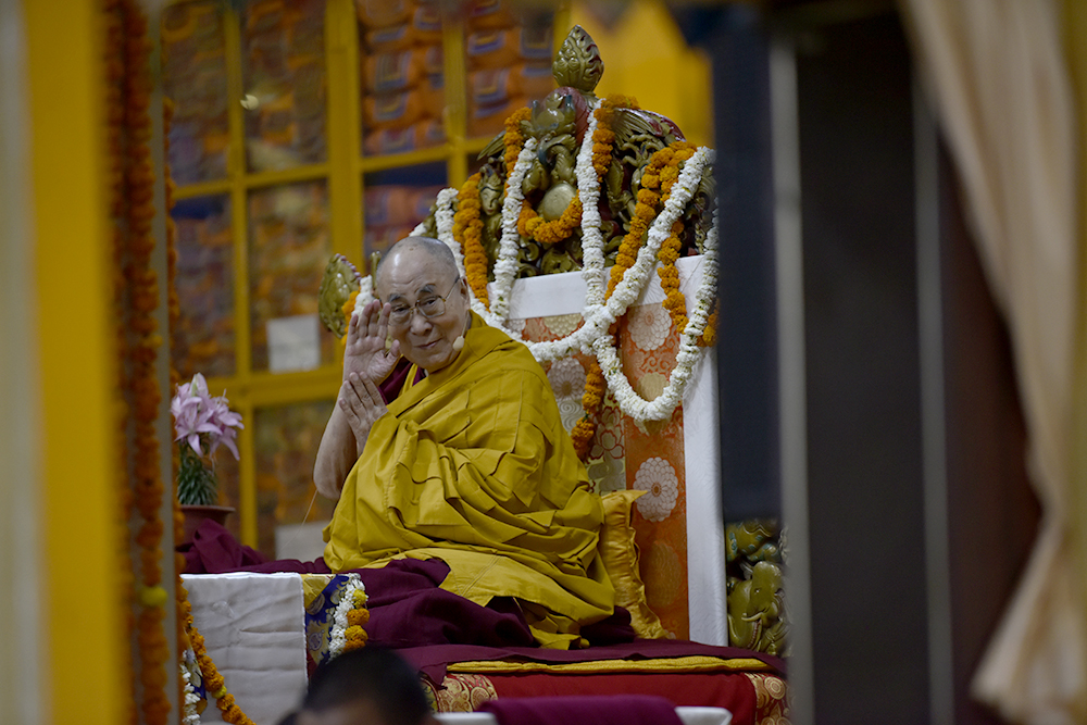 His Holiness the Dalai Lama Concludes Three-day Teachings for
