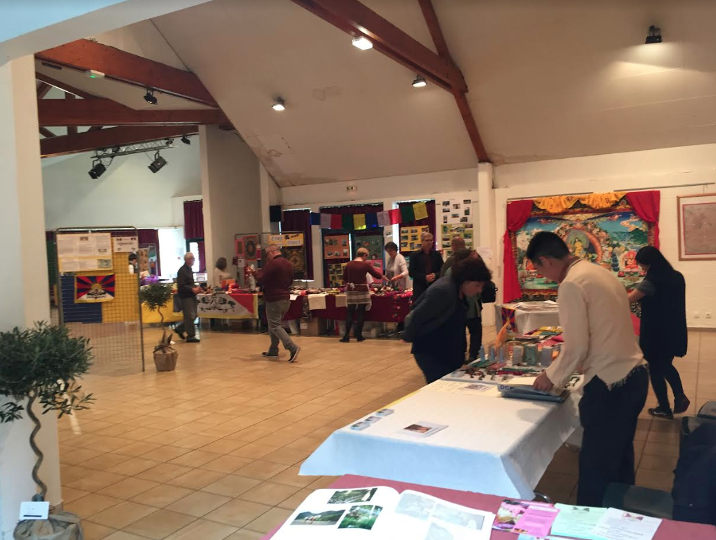Office Of Tibet Paris Attends Tibet Festival In Normandy France Central Tibetan Administration