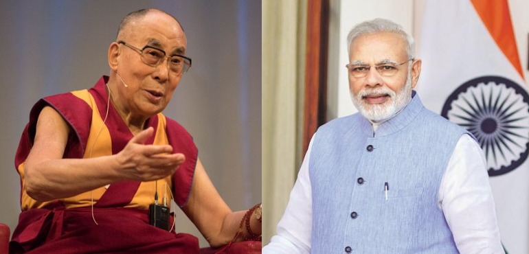 PM Modi's Call to Dalai Lama is a Message to China on Succession Issue Important