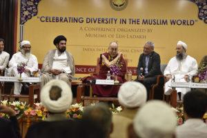 His Holiness the Dalai Lama ushers religious harmony amongst Muslim