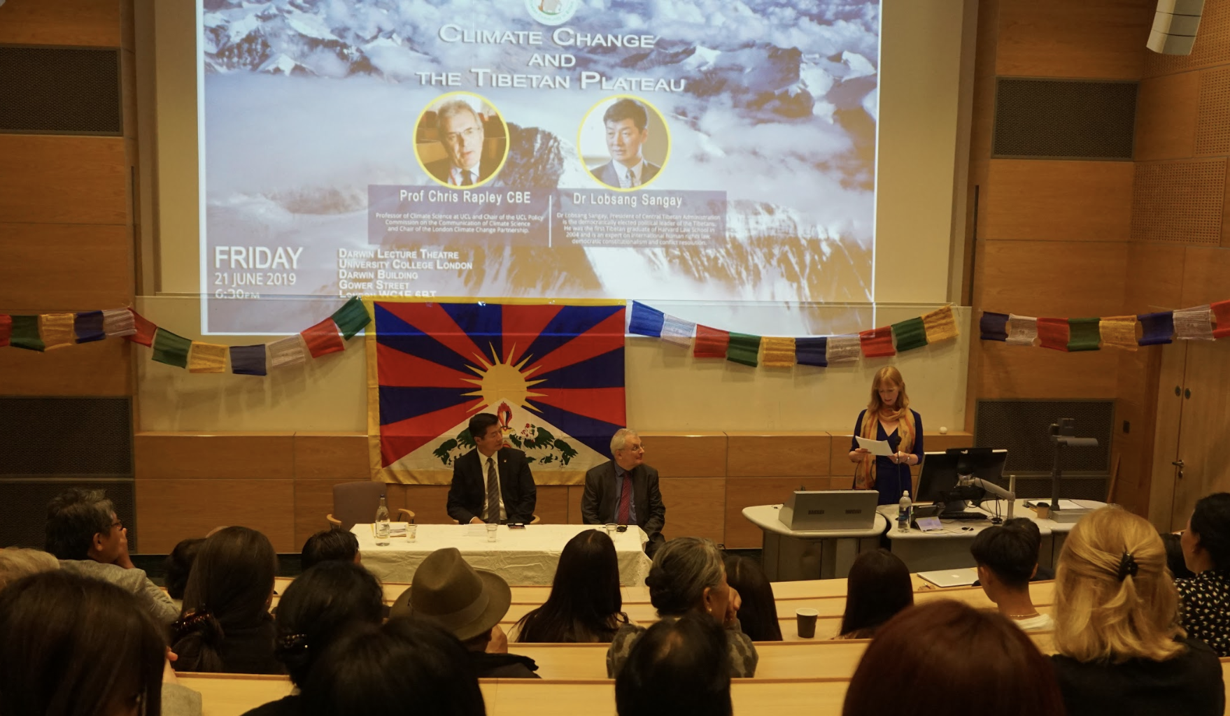 Climate Change and Tibet Discussed at University College