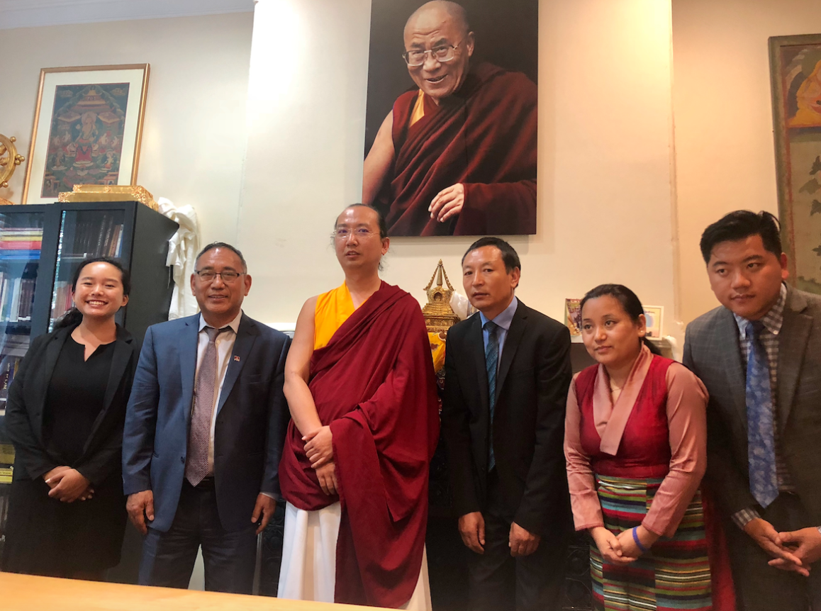 Sakya Gongma Trizin Rinpoche Graces and Consecrates Office