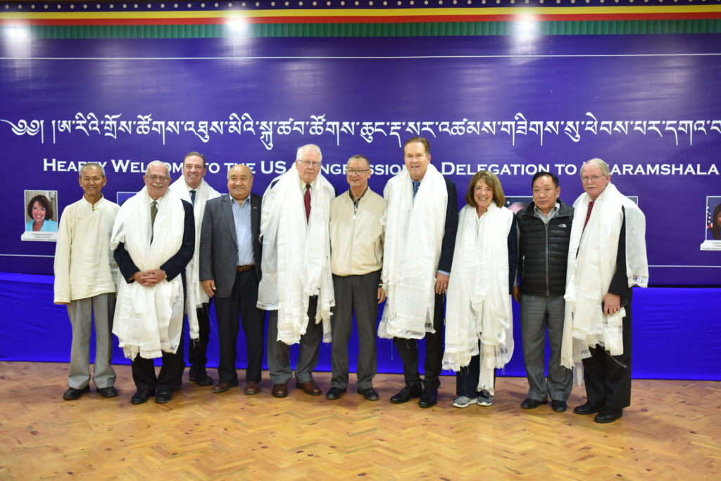 The US delegation with Chief Justices, Auditor General and Public Service Commissioner. Photo/Tenzin Jigme/CTA