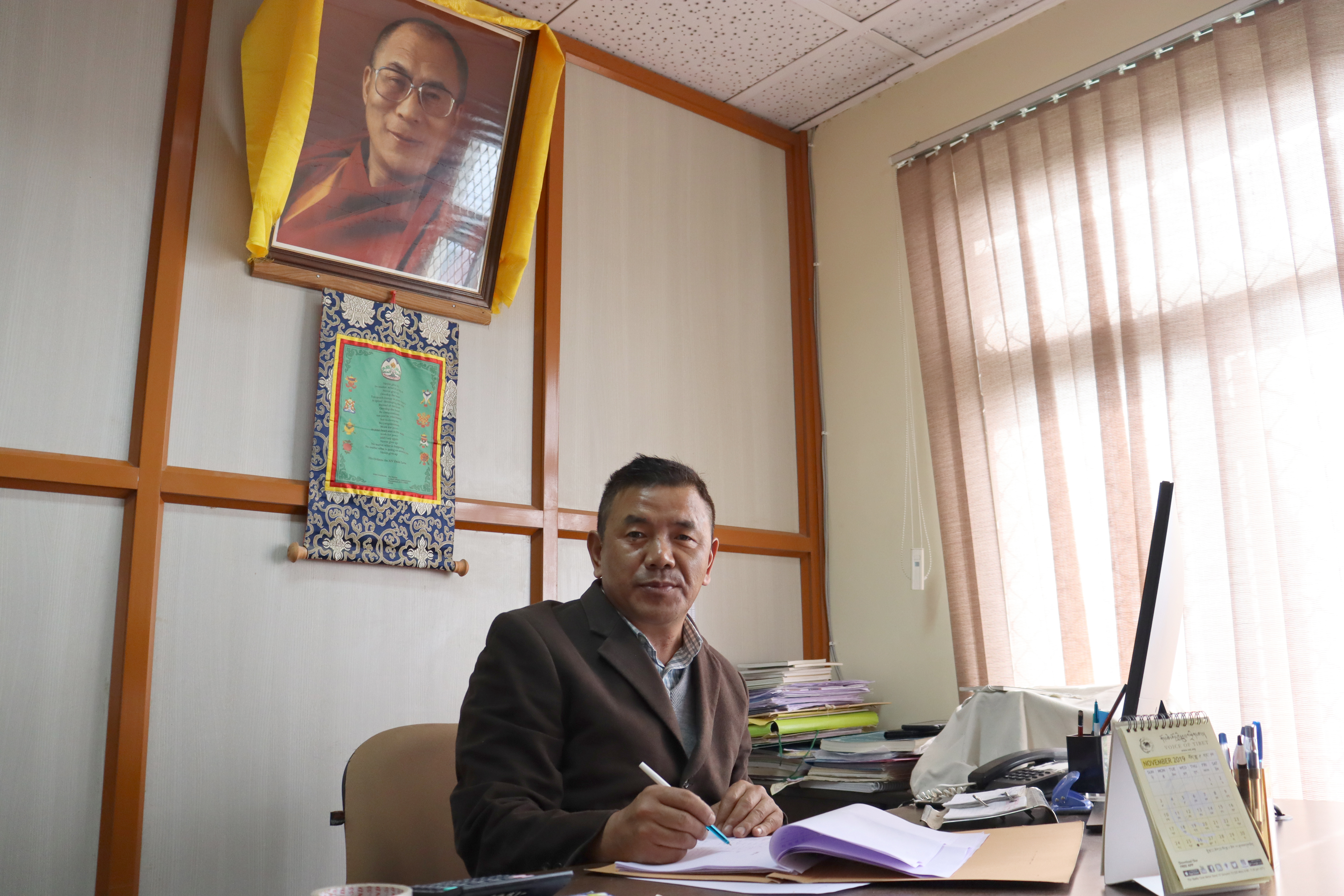 Mr. Dhondup Tsering, deputy director at the Department of Home of Central Tibetan Administration. Photo|Tenzin Jigme Taydeh|CTA