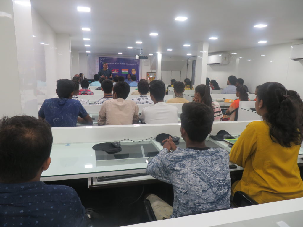 The faculties and students attentively listening to ITCO Coordinator during the seminar. Photo/ITCO