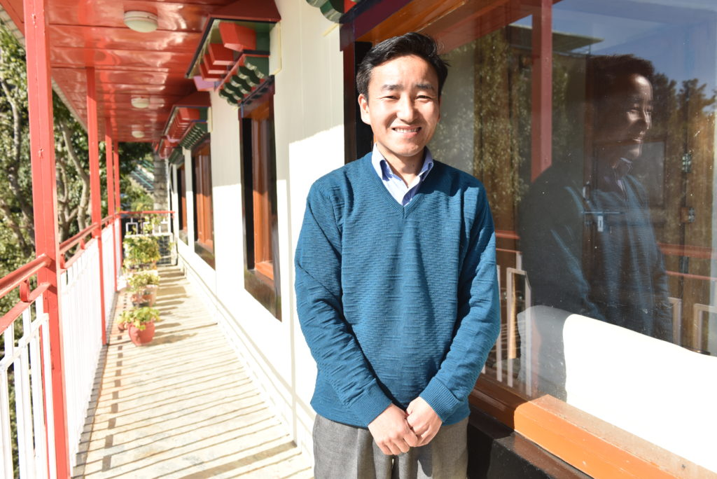 Mr. Tashi Thakchoe works at Kashag Secretariat, Central Tibetan Administration. Photo|Tenzin Jigme|CTA