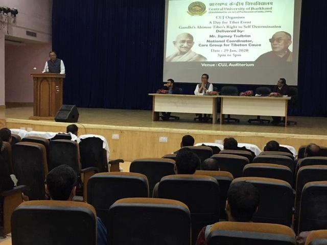 Shri Sudesh Kumar Chandravanshi addressing the gathering. Photo/ ITCO, Delhi