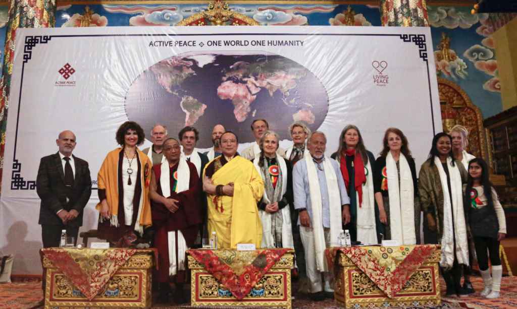 """Chorig Kalon attends """"Water for life"""" conference at ..."""