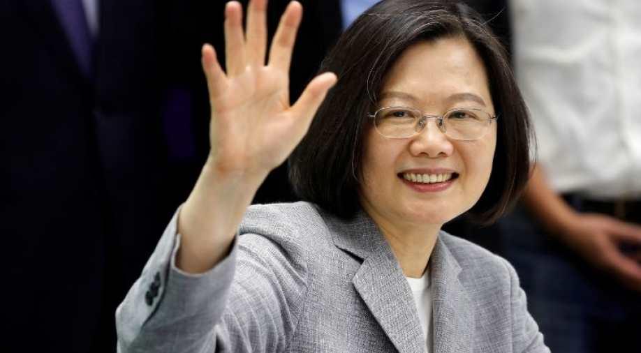 Taiwan President Tsai Ing-wen Photograph:( Reuters )