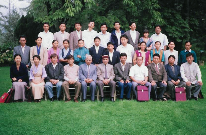 Participants of the Programme on General Management for Officers at HIPA, Shimla, 1998.