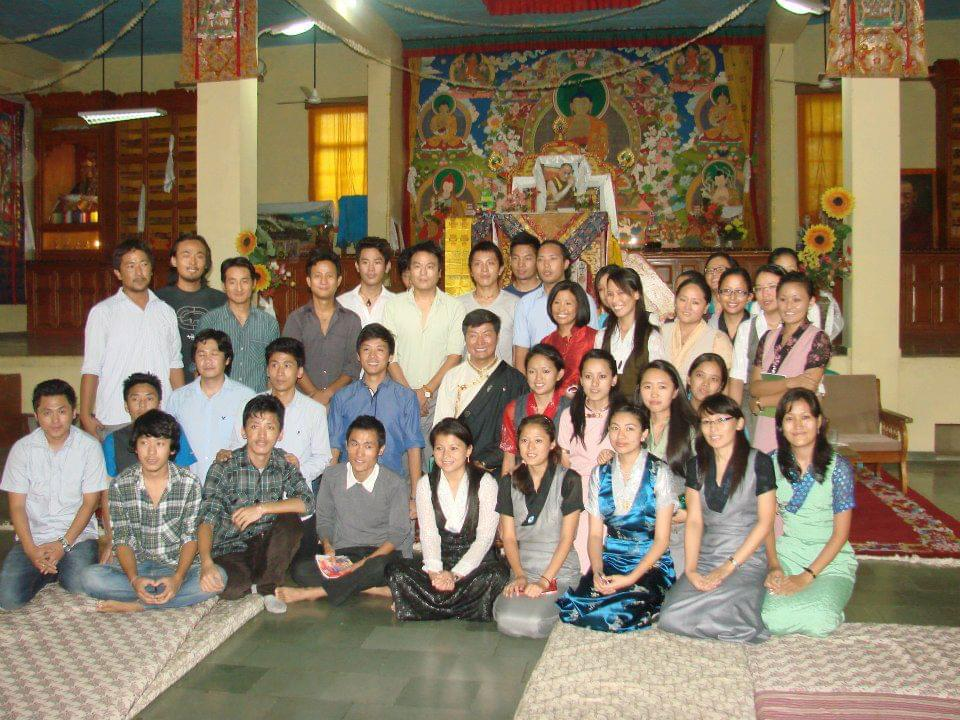 Ngawang Tenzin, one of 40 trainees with Sikyong Dr Lobsang Sangay during the CTA Pre Service Training Course at Sarah.