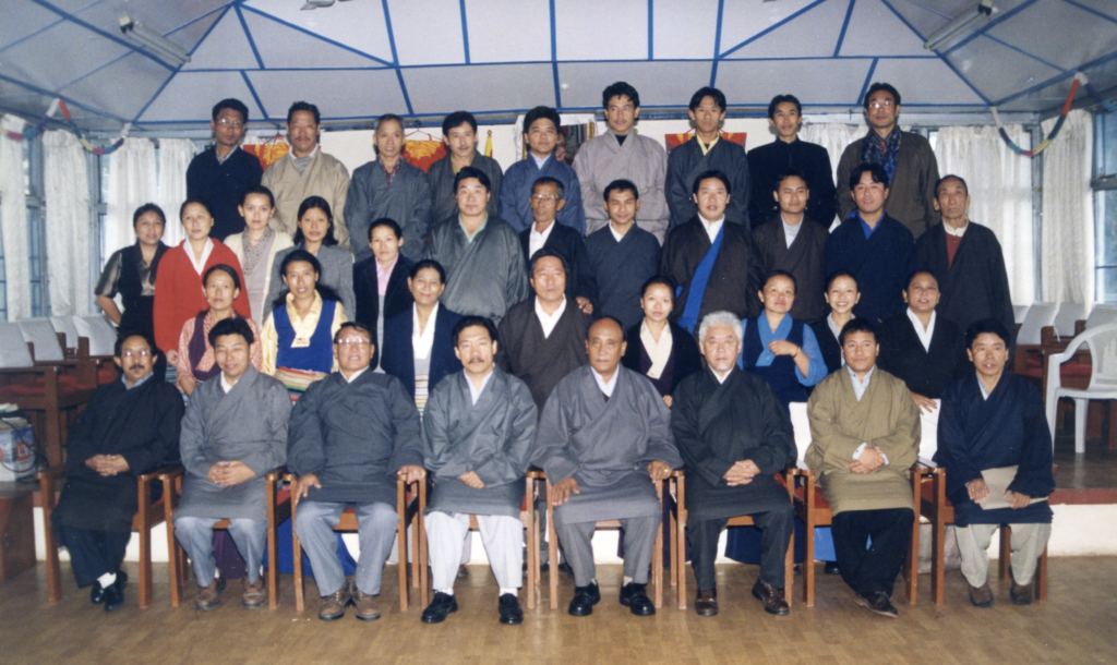 Department of Home's staff group photo.