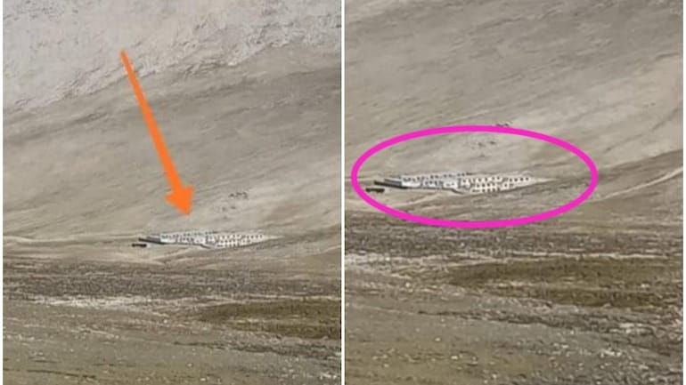 Chinese buildings between Limi and Lapcha in Nepal's Humla district (Photo Credits: Sujeet Jha/India Today)