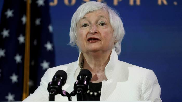 Janet Yellen, U.S. President-elect Joe Biden's nominee for Treasury Secretary.© Reuters