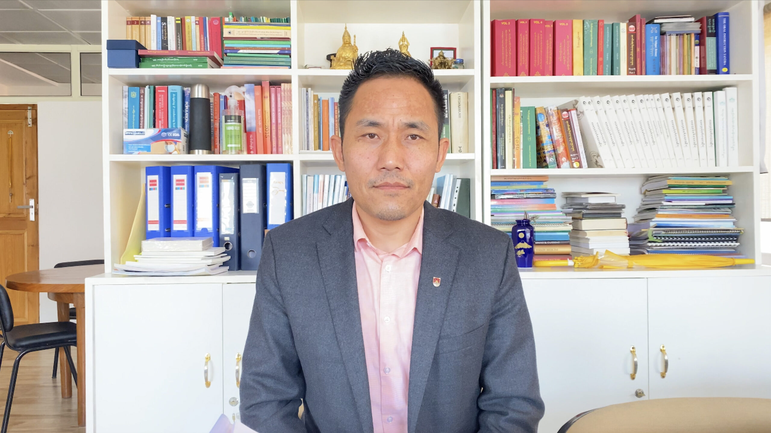 Mr. Nyima Gyaltsen, Deputy Secretary, Department of Health, CTA.